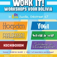Work it! Workshops voor Bolivia